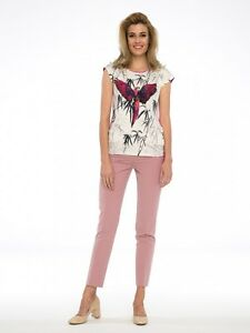Bluse-Shirt-Top-Tunika-Elegant-Trend-Stretch-Topdesign-Mehrfarbig-Gr-44
