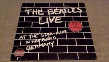 THE BEATLES LIVE AT THE STAR CLUB 1st HOL G/F 2LP 1962 Lennon-McCartney