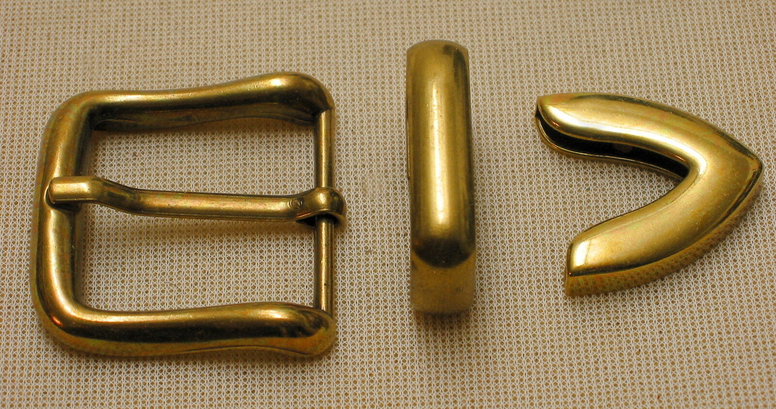 Adorno en la cintura incl. correa de + punta para cinturón ancho 3cm metal color de latón #