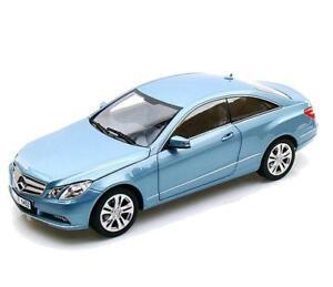 Norev 1 18 Mercedes Benz E500 Coupe Diecast Model Car Light Blue