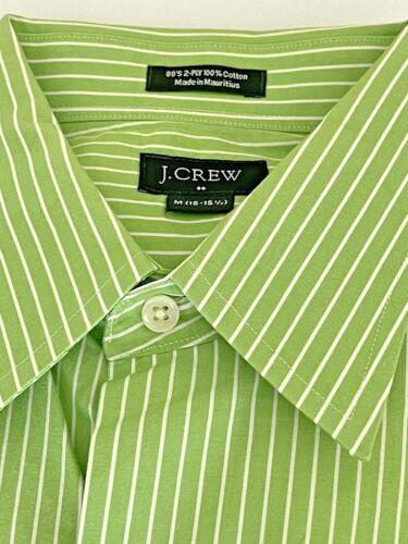 J. Crew Men's Button Up Shirt Size Medium White Gr