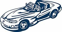 Dodge Viper Vinyl Decal Your Color Choice Sticker