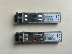 Lot of 8 Genuine Cisco 30-1301-02 GLC-SX-MM 1000Base-SX Transceiver Module SFP