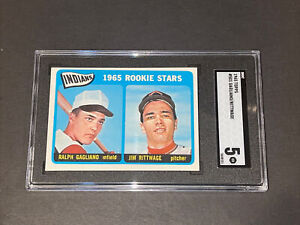 1965 Topps #501 Gagliano / Rittwage SGC 5 Newly Graded & Labelled