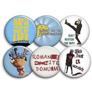 Monty-Python-Button-Badge-25mm-1-inch-Life-of-Brian-Humour-Parody-Style