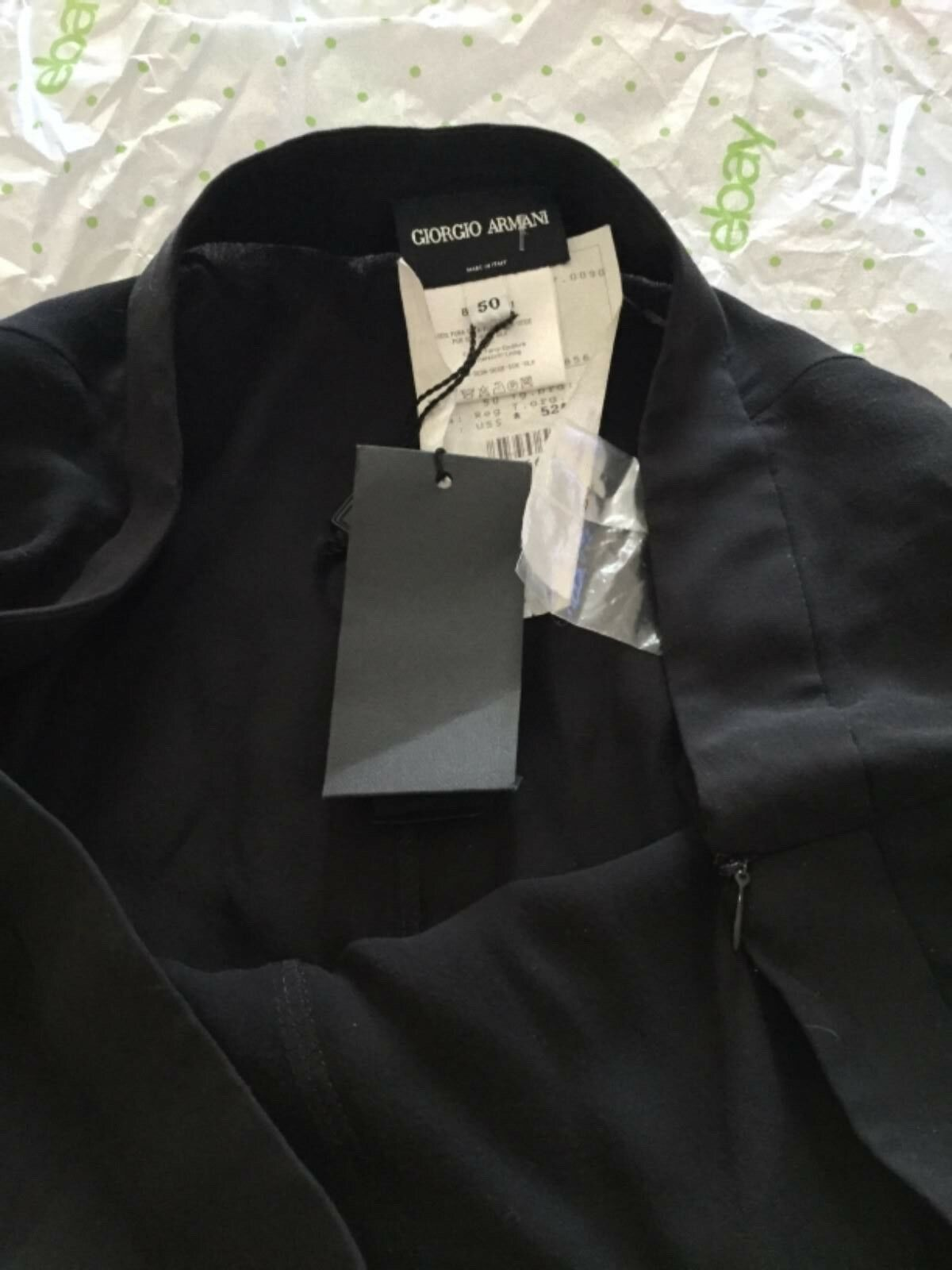 NEW Giorgio Armani Women's 100% Silk 2-Ply Skirt - 50