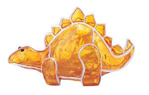 Dekoleuchte-Dino-Lampe-aus-Fiberglas-mit-Lichterkette-innen-Farben-Kinderleuchte