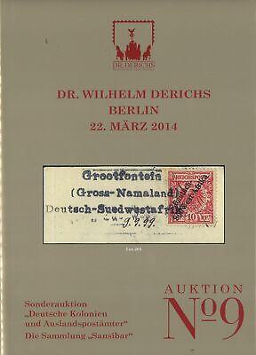 """Derichs-auktion Berlin: Die Sammlung """"sansibar"""" Dr 9 22.3.2014"""
