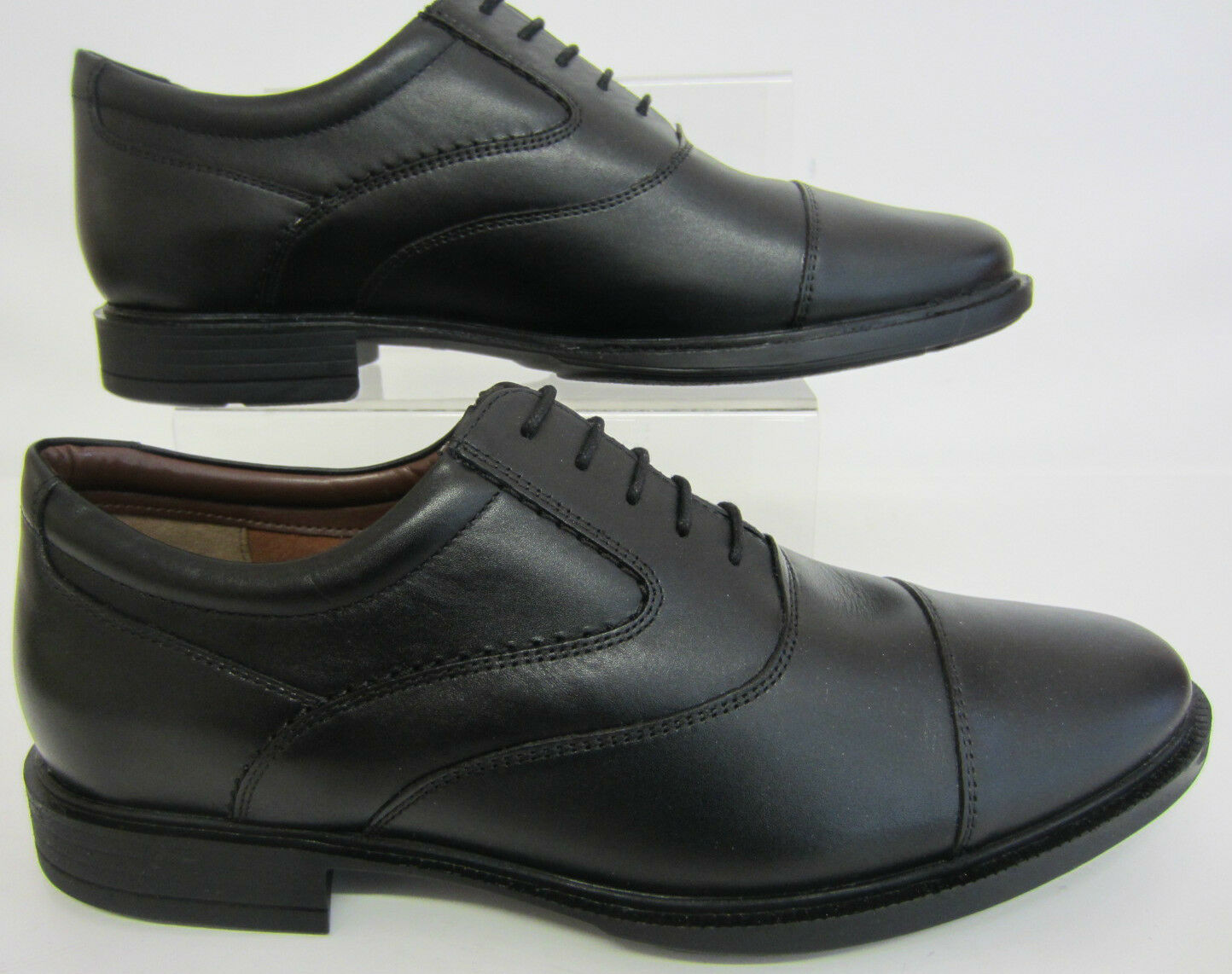 HUSH PUPPIES hommes hommes PUPPIES Rockford 3 DENTELLE NOIRE CHAUSSURE h13139000 uk6x12 (r19b) 92aa89