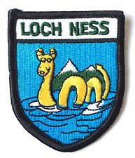 Loch Ness Monster Scotland Embroidered Patch (AO63B)