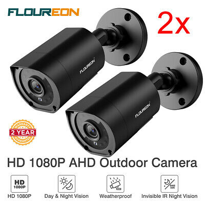 2x HD 1080P 3000TVL Outdoor CCTV Home Security Camera 940nm Invisible IR Night