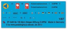 Peddinghaus 2685 1/87 Bo 105 Rettungshubschrauber Björn Steiger-Stiftung D-HFFM