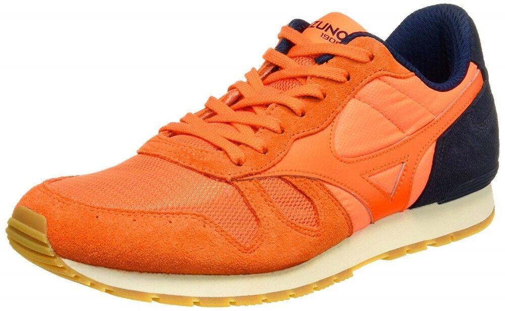 Mizuno sports-style casual sneakers MIZUNO ML87 D1GA1700 orange × navy