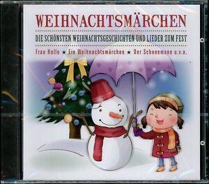 CD-Weihnachtsmaerchen-Die-schoensten-Weihnachtslieder-amp-Geschichten-fuer-Kinder