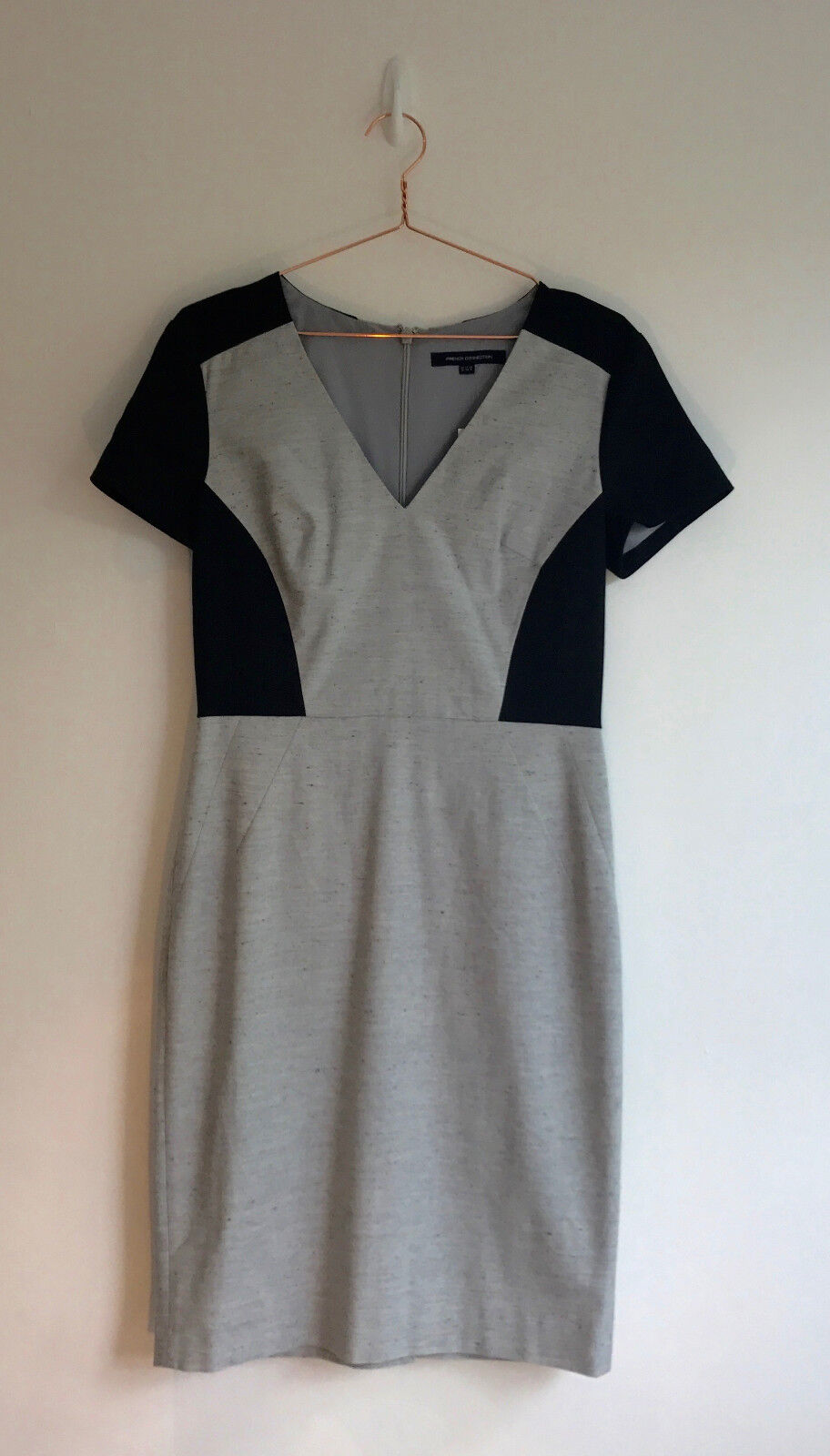 BNWT Ufficio Formale Indossare Body con French French French Connection Sonia Dimensioneur Dress-Taglia 12 6d118d