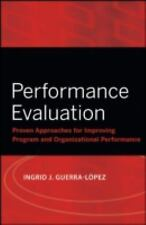Performance Evaluation: Proven Approaches for Improving Program and