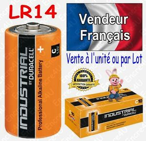 Piles-LR14-C-DURACELL-INDUSTRIAL-R14-MN1400-Alcaline-x-1-2-4-6-8-10-20-30-40-50