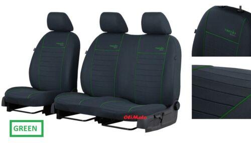 Tailored Van Fabric Seat Covers 2+1 Vauxhall Vivaro 2015 2016 2017 2018 2019