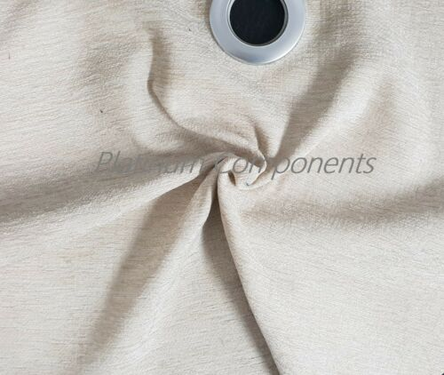 """BRAND NEW SHIMMERING CHENILLE CREAM UPHOLSTERY FABRIC  10 METER X 55/"""" WIDTH"""