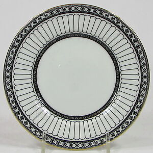 Wedgwood-COLONNADE-6-034-Bread-amp-Butter-Plate-R4340-Black-Bone-China-England