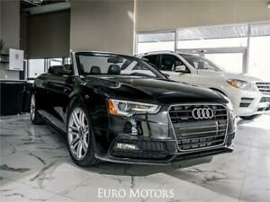 2015 Audi A5 Convertible | S Line | Quattro AWD | Low KMs |