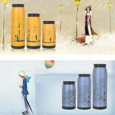 Stainless Steel Vacuum Bottle Flask Travel Mug Tea Cold Insulated Cup