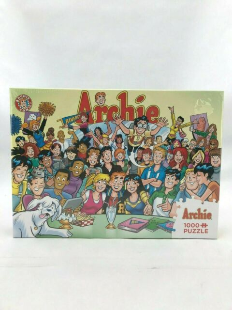Cobble Hill Archie Puzzle | The Gang at Pop's | 1000 Piece (Toy246)