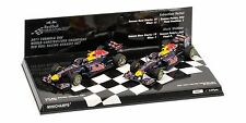 2011 Formula 1 Champions Red Bull RB7 1:43 Scale Diecast Minichamps 412-110102