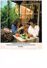 PUBLICITE  1977   IZARRA   armagnac corsé