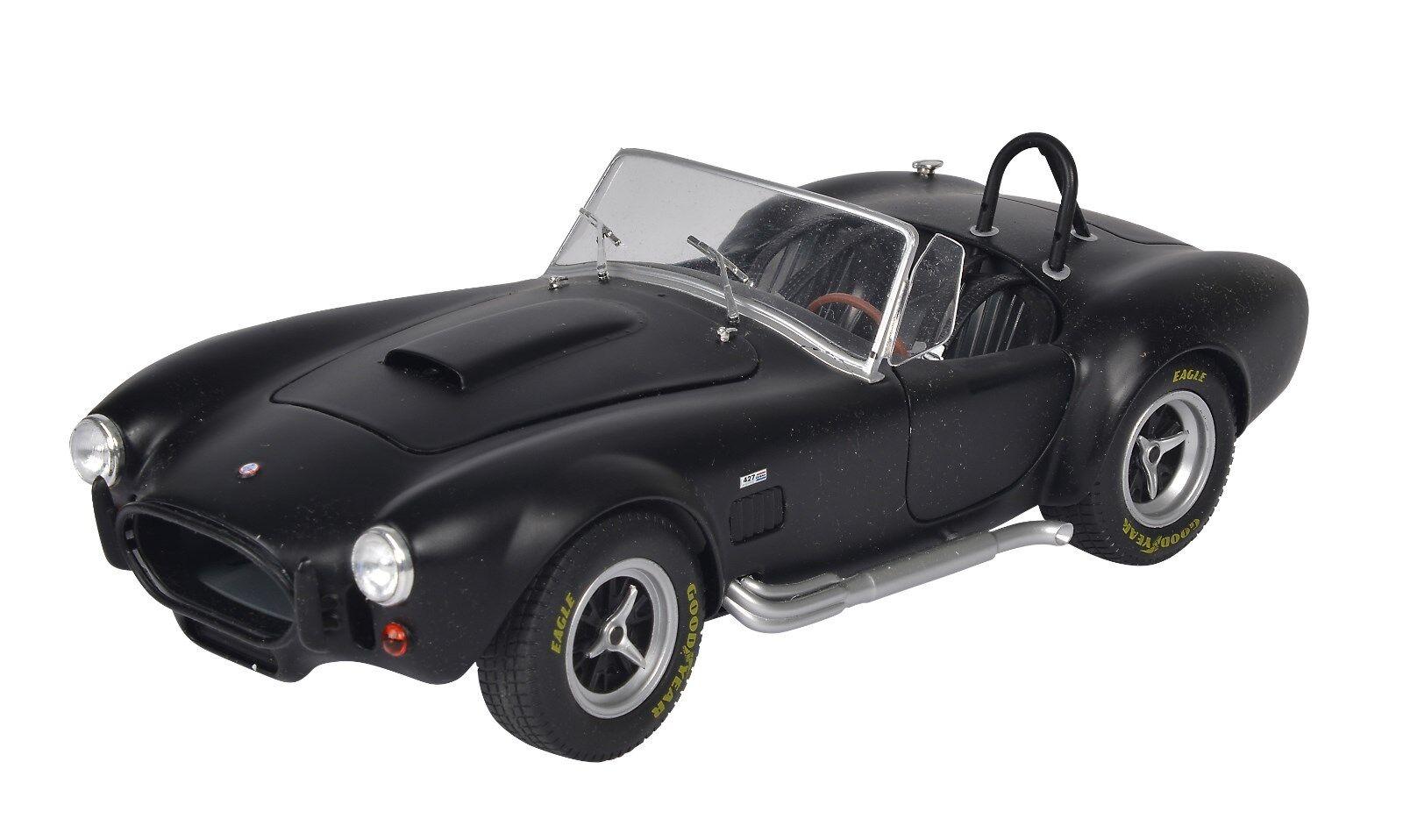 Ac Cobra Mk II black Mate 421184640 1 18 Solido