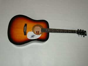 SAMANTHA-FISH-SIGNED-SUNBURST-ACOUSTIC-GUITAR-BLUES-GUITARIST-PROOF-RARE-JSA-COA