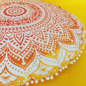 34-034-Indian-Mandala-Round-Floor-Pillow-Bohemian-Decor-Meditation-Cushion-Cover