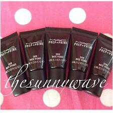 Mac Cosmetics Prep + Prime Skin Base Visage Travel Size Lot of 5