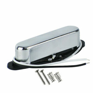 New-Alnico-5-Tele-Guitar-Neck-Pickup-Single-Coil-Pickup-Closed-Chrome-Cover