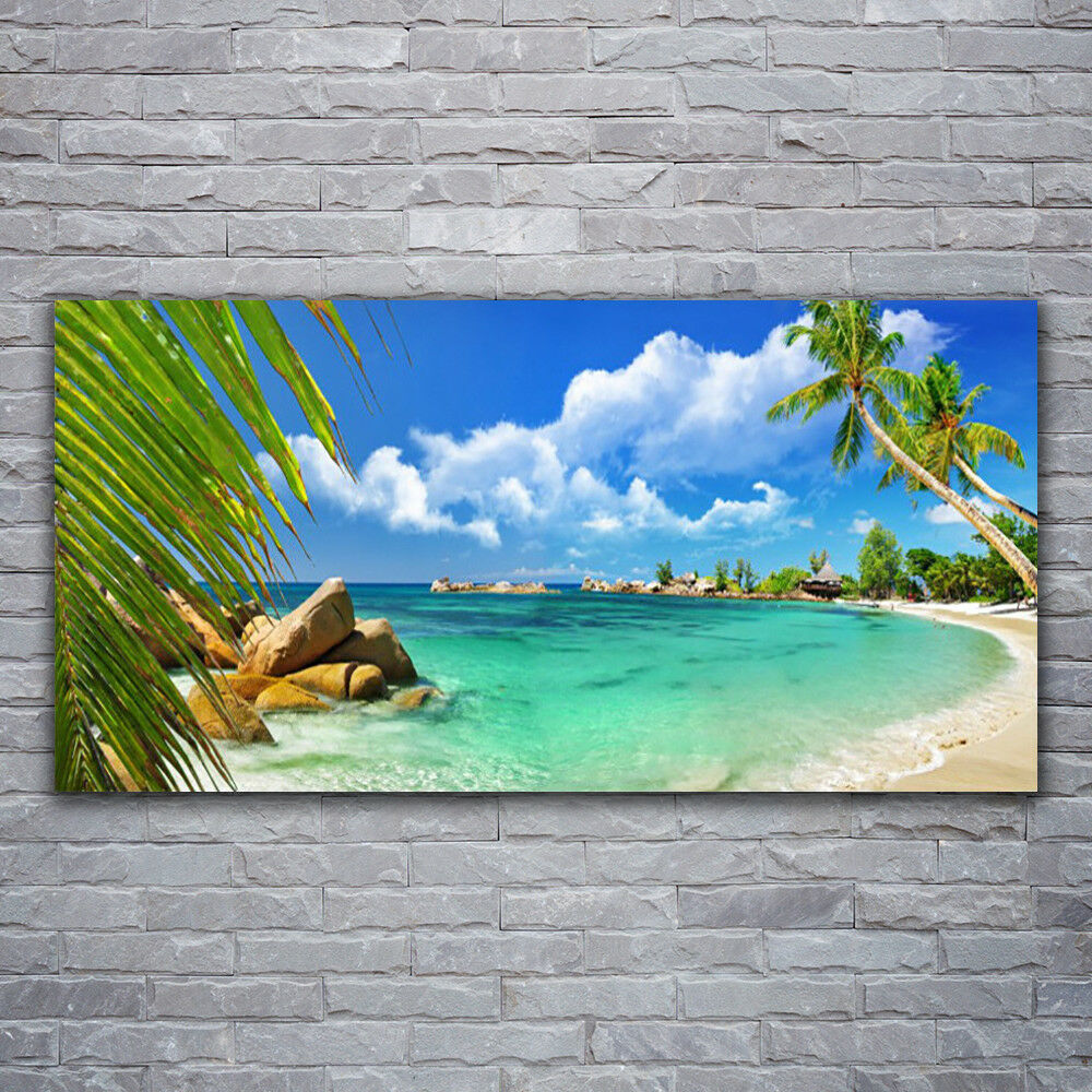 Canvas print Wall Wall Wall art on 120x60 Image Picture Sea Landscape 5e1dee