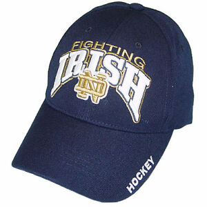 pretty nice 8bf7e 6e922 Image is loading Notre-Dame-Fighting-Irish-Hockey-Top-of-the-