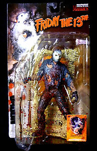 Mcfarlane Film Maniacs Super Bloody Jason Action Figure vendredi 13 décembre 787926171020