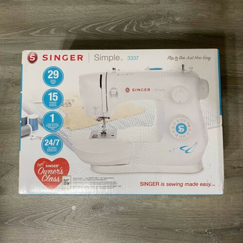 NEW Singer 3337 Simple 29-stitch Heavy Duty Home Sewing Machine FAST FREE SHIP
