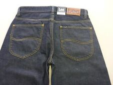 096 MENS NWT LEE L3 STRAIGHT DK BLUE GRAIN RINSE JEANS 30 SHORT $130 RRP.