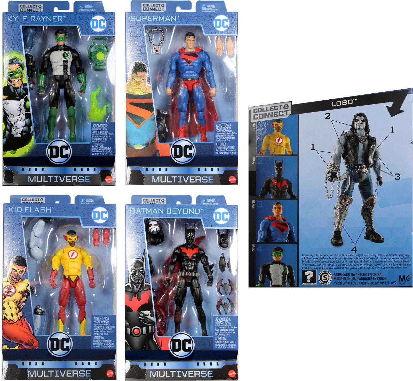 DC Multiverse 6  WAVE  10 FIGURE SET  Enfant Flash, Bathomme Beyond, Lobo BAF++  magasin d'usine