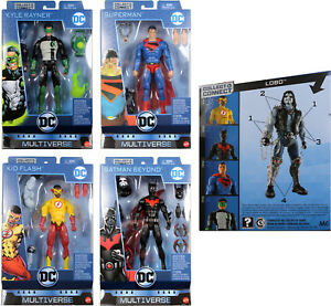 DC-Multiverse-6-034-WAVE-10-FIGURE-SET-Kid-Flash-Batman-Beyond-Lobo-BAF