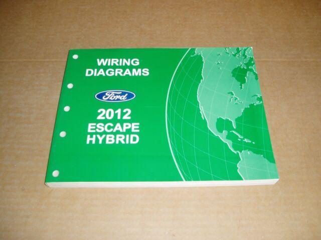 2012 Ford Escape Hybrid Wiring Diagram Service Shop Dealer