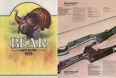 1972 Bear Archery Equipment Catalog Reproduction