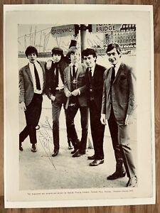 The Rolling Stones Signed Concert Programme The Rolling Stones Show 1964 Poster