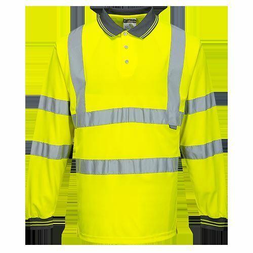 Portwest Workwear Workwear Hi-Vis Long Sleeved Polo S277