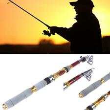 Strong Portable Saltwater Fishing Rod Travel Spinning Pole Sea Rods 2.1m