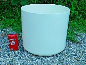 LARGE-White-Mid-Century-Modern-Architectural-Pottery-Planter-Haeger-Ceramic-11-034