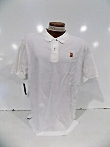793b50fe Nike Court Men's Heritage Tennis Polo Shirt Sz S-XL White 943442-100 ...