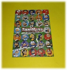 TEENYMATES-SERIES-2-COMPLETE-NFL-PUZZLE-SET-ALL-35-PIECES-BRAND-NEW-DISCONTINUED