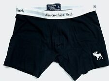 Abercrombie & Fitch NAVY BLACK A&F Mens Boxer Briefs Underwear MEDIUM M